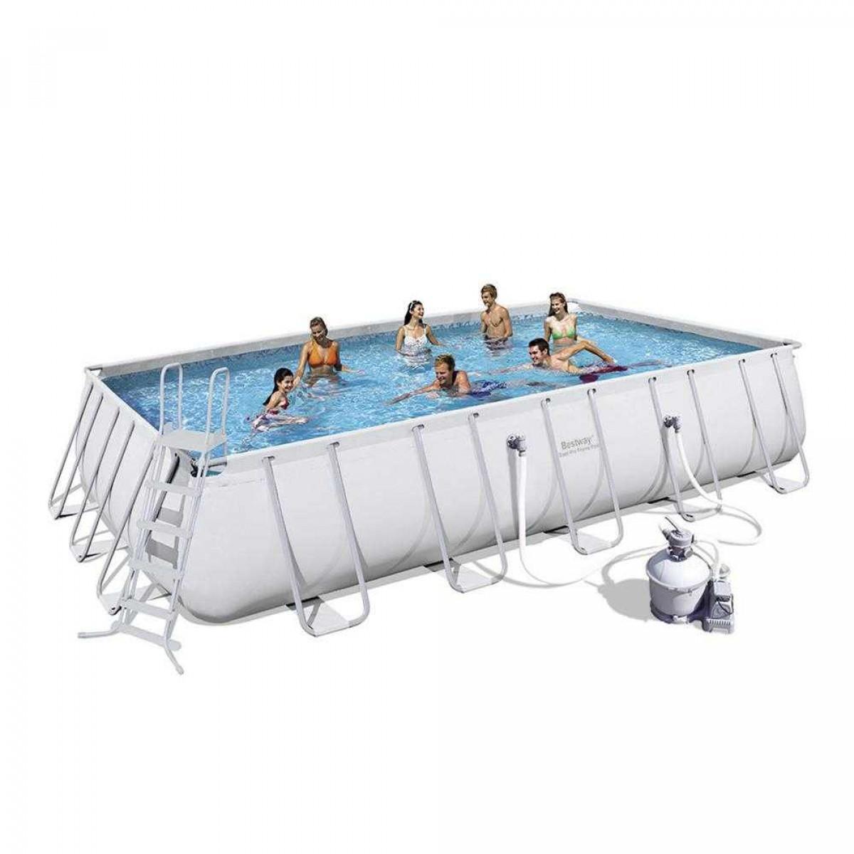 11 Unique Above Ground Pool Ideas square pool
