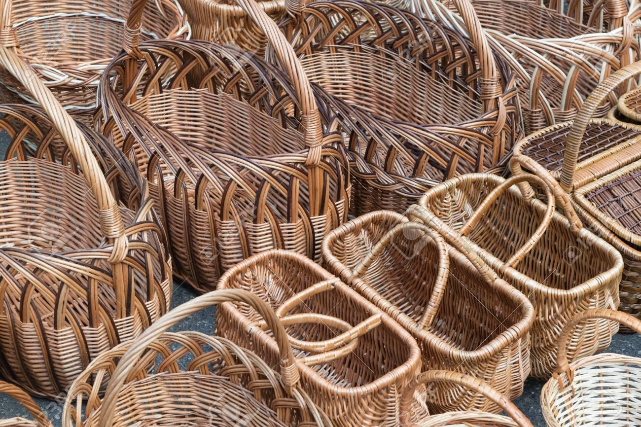 woven design baskets
