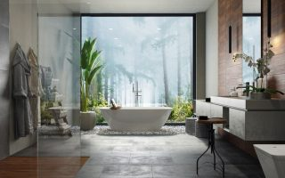 how to make a luxurious bathroom