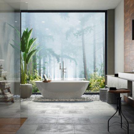 how to make a luxurious bathroom