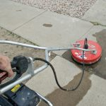 Clean Your Concrete Driveway and Pathway Areas with Quality Pressure Washer