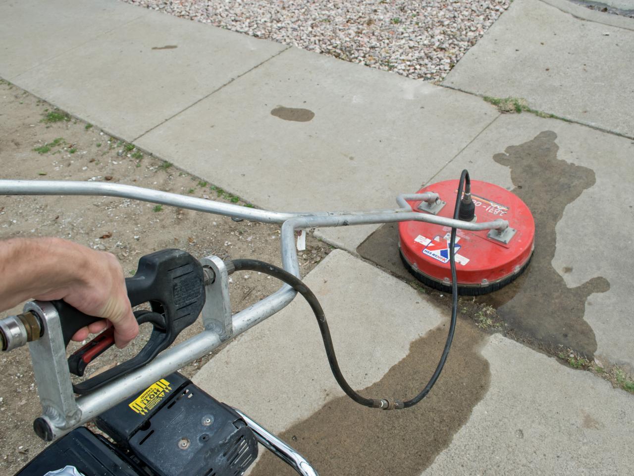 pressure washing concrete cleaner