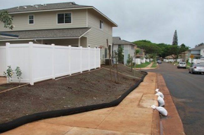 Controlling Erosion