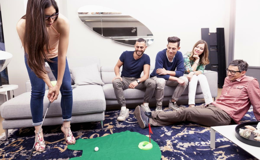 benefits of a recreation room
