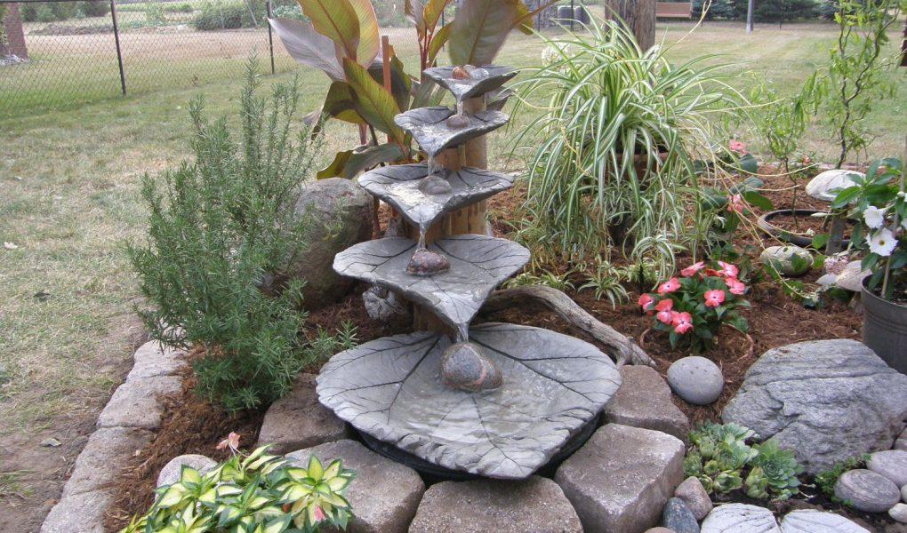 concrete garden decoration