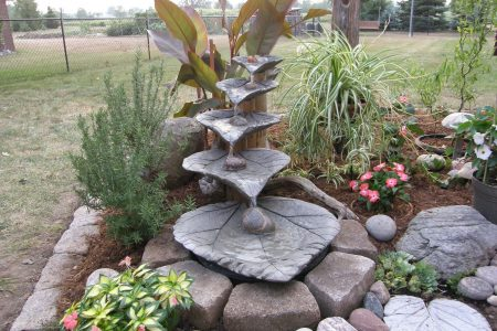 concrete garden decoration