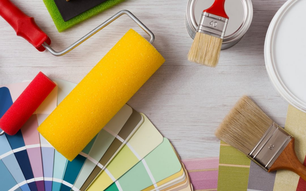 How to professional painters work