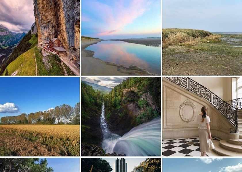 Travel Hashtags on Instagram