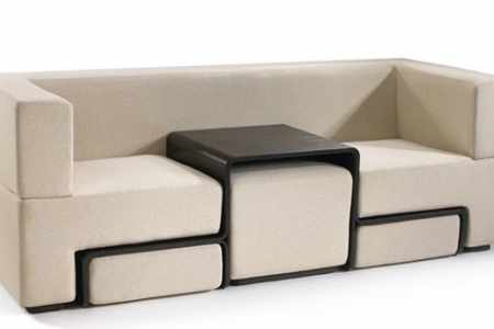 Multipurpose couches enhance look